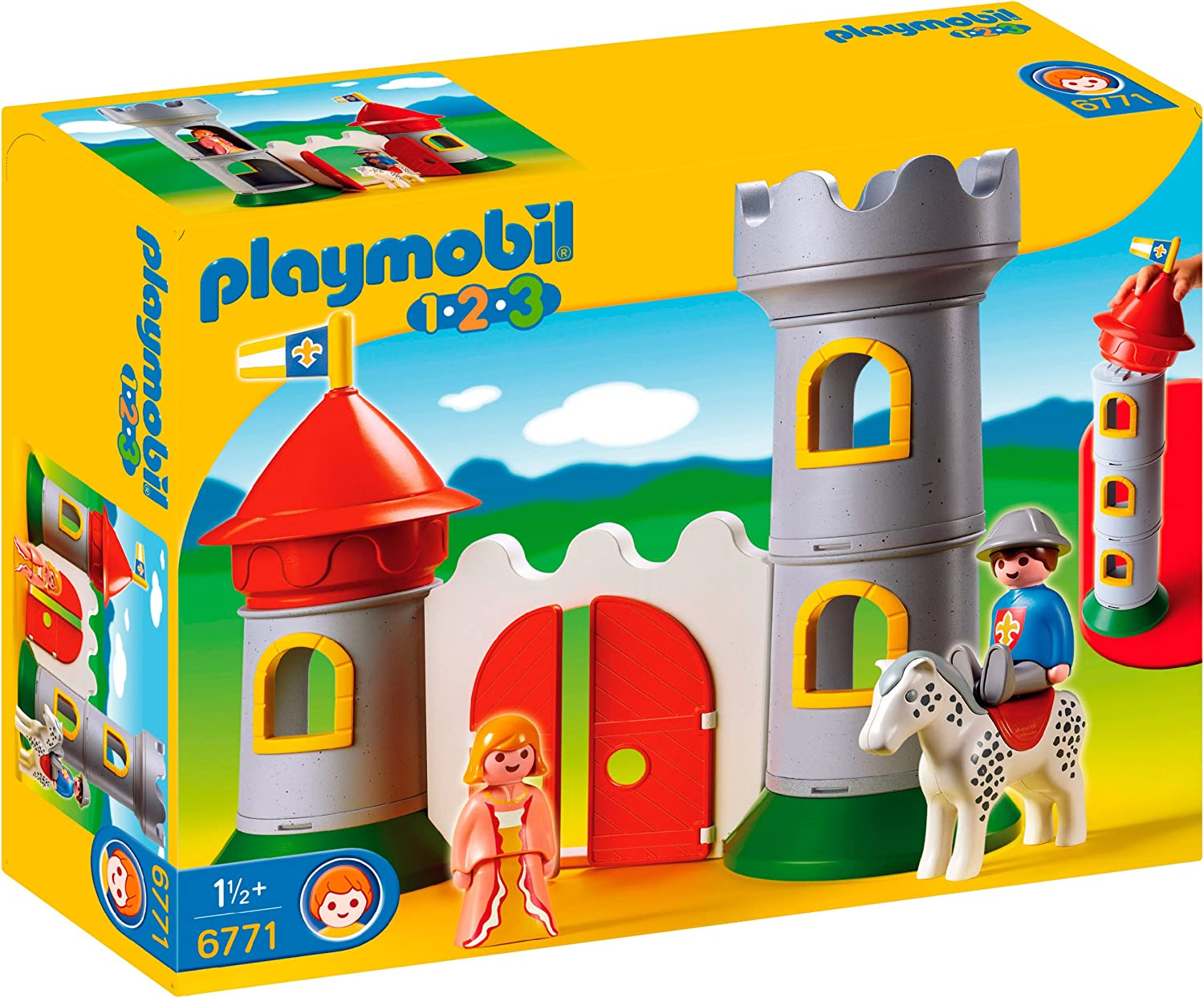 Playmobil My First 1.2.3 Knight's Castle