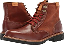 Cole Haan - Grantland Plain Toe Lace-Up Waterproof