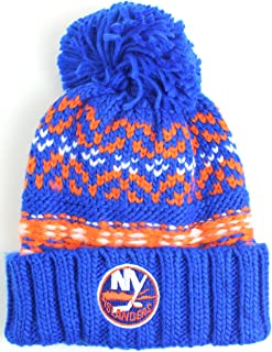 American Needle NHL Gusto Cuffed Pom Beanie Knit Hat