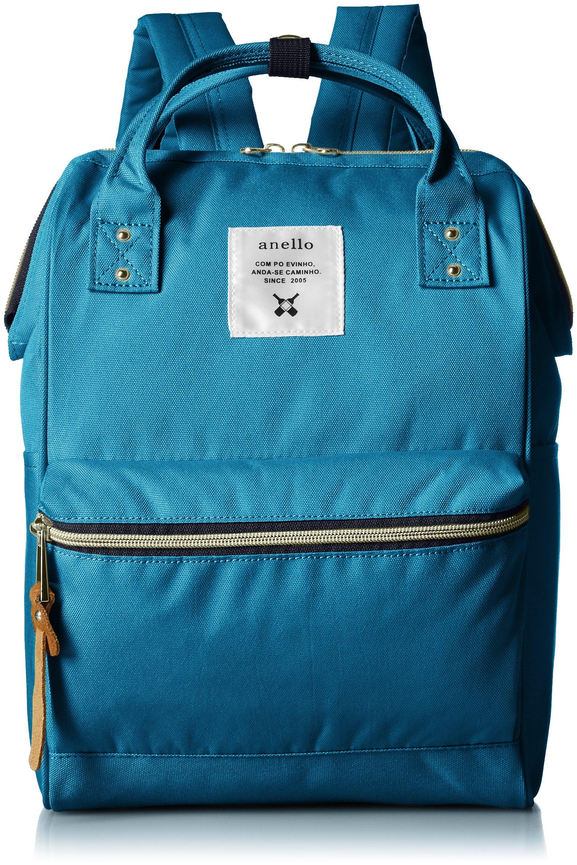 anello [正品] 金属拉链迷你帆布背包 AT-B0197B BL (蓝)