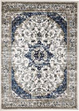 MADISON COLLECTION 401 Vintage Distressed Style Area Clearance Soft Pile Durable Size Option , 1'10'' x 2'.11'' Scatter rug Door Mat