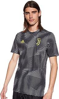 Adidas Men's Juventus Home Pre-Match Jersey Jersey (Short Sleeve), Black (Black/white), 2X-Large (DP2891)