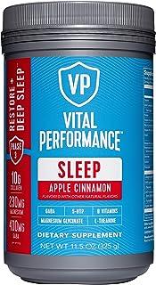 Vital Performance Sleep Apple Cinnamon - Natural Sleep Aid with GABA and L-Theanine