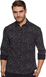 Colt Men's Printed Slim fit Casual Shirt