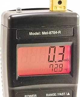 Mel-8704R Paranormal EMF Meter-Thermometer-Flashlight New + FREE CASE!
