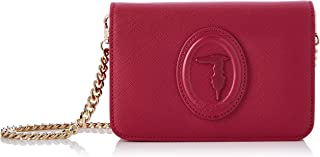 Trussardi Jeans Bag, Clutch 1 Gusset Saffiano Donna, NR