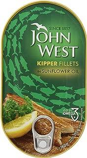 John West Kipper Fillets in Sunflower Oil, 5.6 Ounce
