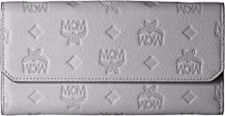 MCM - Klara Monogrammed Leather Flap Wallet