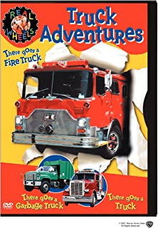 Real Wheels - Truck Adventures: (There Goes a Truck / Fire Truck / Garbage Truck)