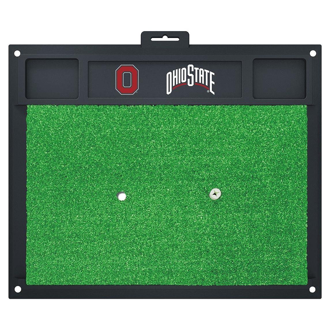 Fanmats 15495 Ohio State University Golf Hitting Mat