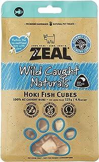 Zeal Free Range Natural Hokifish Cubes Cat & Dog Treats 125g