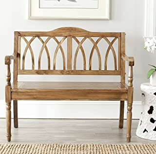 Best oak bench with back Reviews