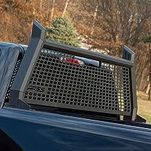 ARIES 1110104 AdvantEDGE Black Aluminum Truck Headache Rack Cab Protector Select Chevrolet Silverado, GMC Sierra 1500, 2500, 3500 HD