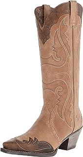 ARIAT Women's Heritage Western X Toe Wingtip Cowboy Boot
