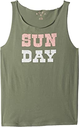 Pretty Heart Sun Day Tank Top (Big Kids)