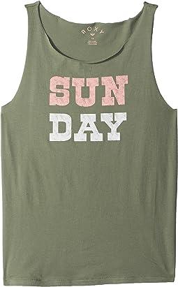 Roxy Kids Pretty Heart Sun Day Tank Top (Big Kids)