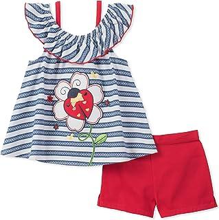 Kids Headquarters Conjunto de Pantalones Cortos para niña de la sede de los niños (2 Unidades)