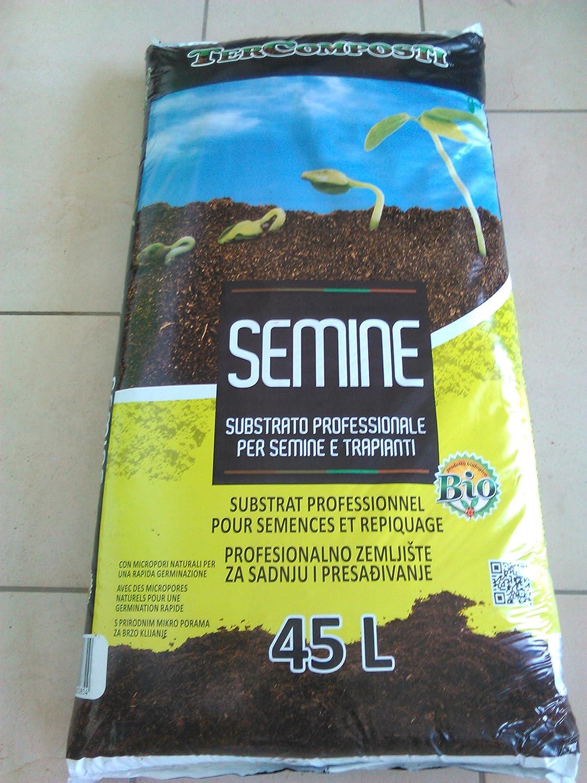 Semine Sustrato Terra Substrato profesional para Semine y trapianti 45L