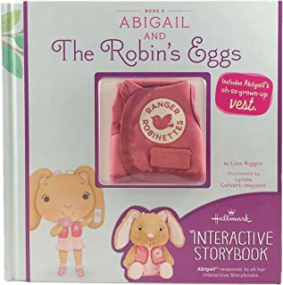 Hallmark StoryBuddy Interactive Book Abigail and The Robin's Eggs with Vest Book 5