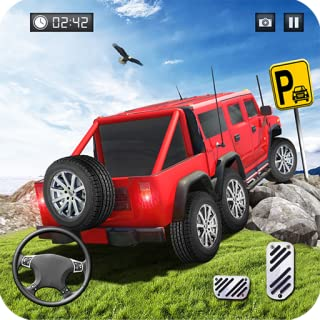 Offroad Pickup Truck Parking Simulator 2018: Mountain Jeep Truck Simulator & Buggy Car Driving Games Free for Kids