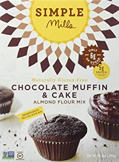 Simple Mills Almond Flour Mix, Chocolate Muffin & Cake, 10.4 oz