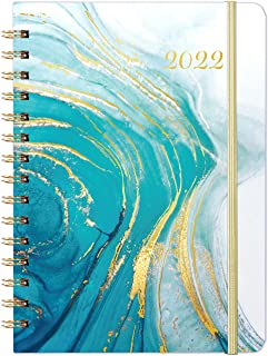 """2022 Planner - Weekly & Monthly Planner Jan 2022 - Dec 2022 with Monthly Tabs, 6.4""""x 8.5"""", Elastic Closure, Perfect for Yo..."""