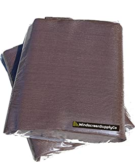 6 ft x 25 ft Sunscreen Shade Fabric 95% Shade, UV Resistant Mesh Netting Cover for Outdoor,Patio,Backyard,Pergola,Plant,Greenhouse,Barn (Brown)