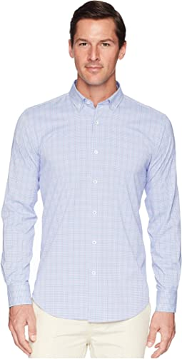 Long Sleeve Woven Shirt Shaped Fit