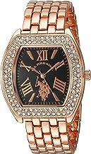 U.S. Polo Assn. Women's Analog-Quartz Watch with Alloy Strap, Rose Gold, 10 (Model: USC40126)