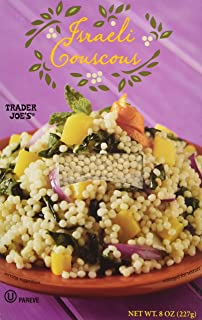 Trader Joe's Israeli Couscous 8 Oz Box (2 Pack)