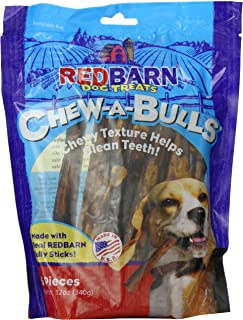 Redbarn Pet Products, Beef Chew-A-Bulls (6 pack)