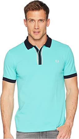 Fred Perry Tipped Plaque Pique Shirt