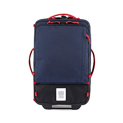 Topo Designs 35 L Travel Bag Roller (Navy/Navy) Carry on Luggage