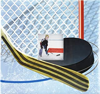 MBI 12x12 Inch Sport and Hobby Postbound Album, Hockey Theme (865405)