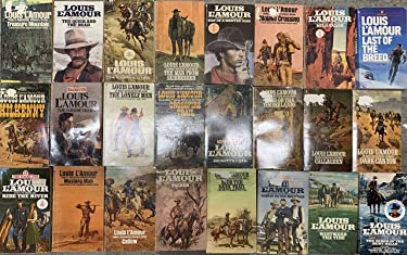 Louis L'Amour western Novel Collection 24 Book Set