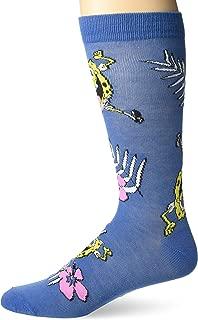 Nickelodeon Men's Spongebob Squarepants Single Crew Socks