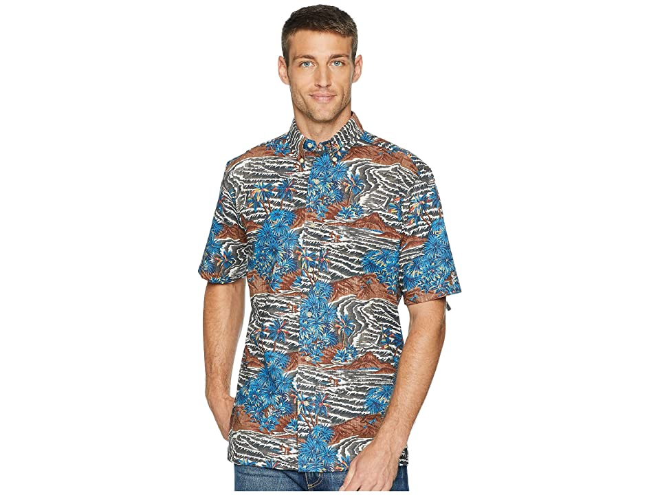 Reyn Spooner Sumatra Slide Classic Fit Aloha Shirt (Espresso) Men