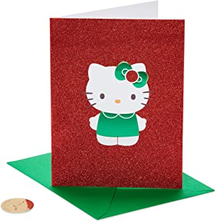Papyrus Christmas Cards Boxed, Hello Kitty Holiday (12-Count)