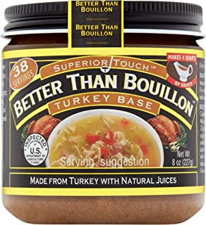 Better Than Bouillon Superior Touch, Turkey Base, 8 oz