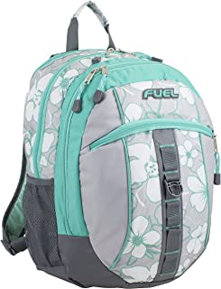Fuel Sport Active Multi-Functional Backpack, Soft Silver/Turquoise
