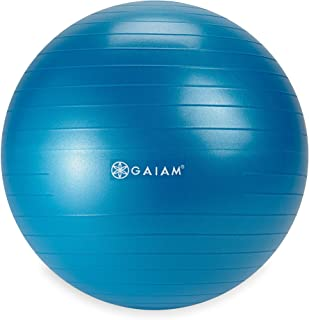 Gaiam Kids Balance Ball - Exercise Stability Yoga Ball, Kids Alternative Flexible Seating for Active Children in Home or Classroom (Satisfaction Guarantee), 45cm