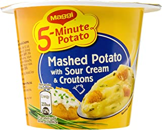 Maggi 5-Min Mashed Potato with Sour Cream and Croutons, 53g
