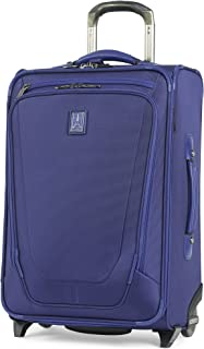 "Travelpro Crew 11 22"" Expandable Rollaboard Wheeled Suiter Suitcase, Indigo (Blue) - 407162265"