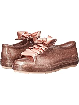 미니 멜리사 디즈니 스니커즈 Mini Melissa Mel Be + Disney (Little Kidu002FBig Kid),Pink Glitter
