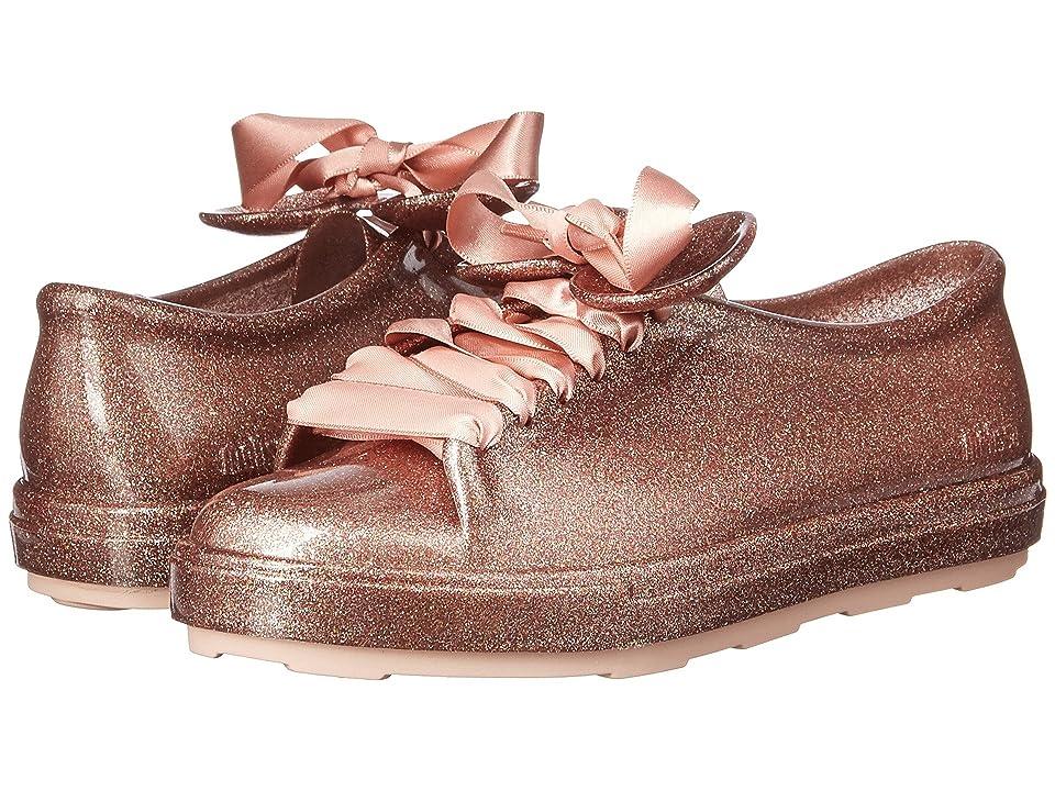 Mini Melissa Mel Be + Disney (Little Kid/Big Kid) (Pink Glitter) Girl
