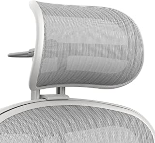Atlas Activated Suspension Headrest For Herman Miller Remastered Aeron Chair - Ergonomically Optimized Accessory For Improved Posture (Remastered Mineral)