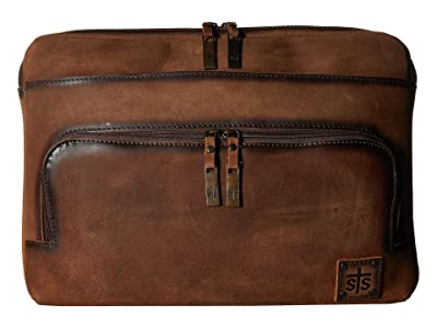 STS Ranchwear The Baroness Large Laptop Bag (Tornado Brown) Computer Bags