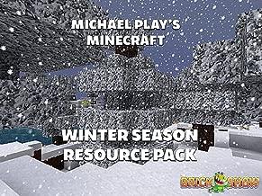 Clip: Michael Play's Minecraft Winter Season Resource Pack