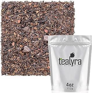 Tealyra - Mate Java Expresso - Roasted Mate - Black Loose Leaf Tea - Chocolate - Cinnamon - Energizing Healthy Blend - 112g (4-ounce)