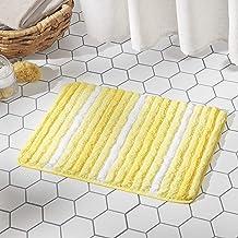 SoHome Chino Ombre Striped Bathroom Rug Mat 27x48, Super Absorbent and Extra Soft Shag Bath Rug, Perfect Plush Carpet Mat ...